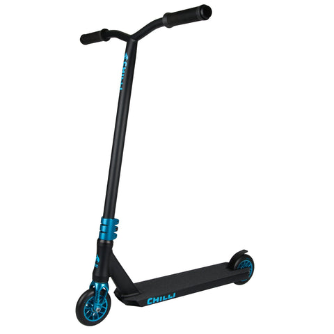 Chilli Pro Scooters All Star Reaper Complete Stunt Scooter - Wave/Black