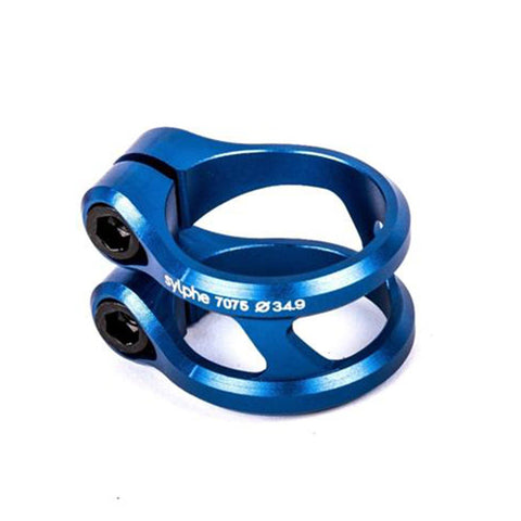 Ethic DTC Slyphe Stunt Scooter Double Clamp HIC, Blue