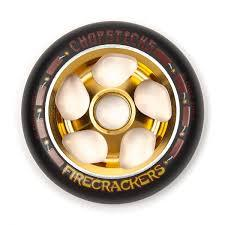 Chopsticks Firecracker Stunt Scooter Wheel 110MM Black/Gold