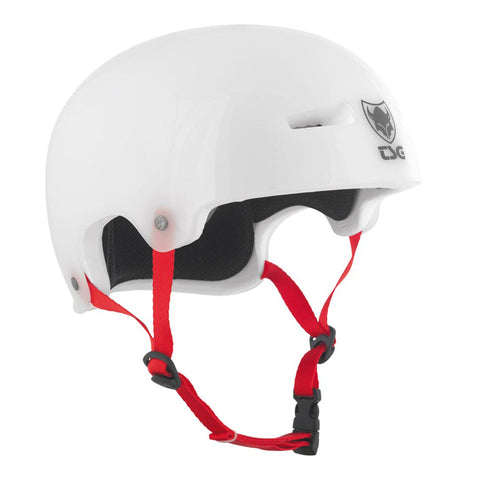 TSG Protection Evolution Skate/BMX Helmet, Clear White