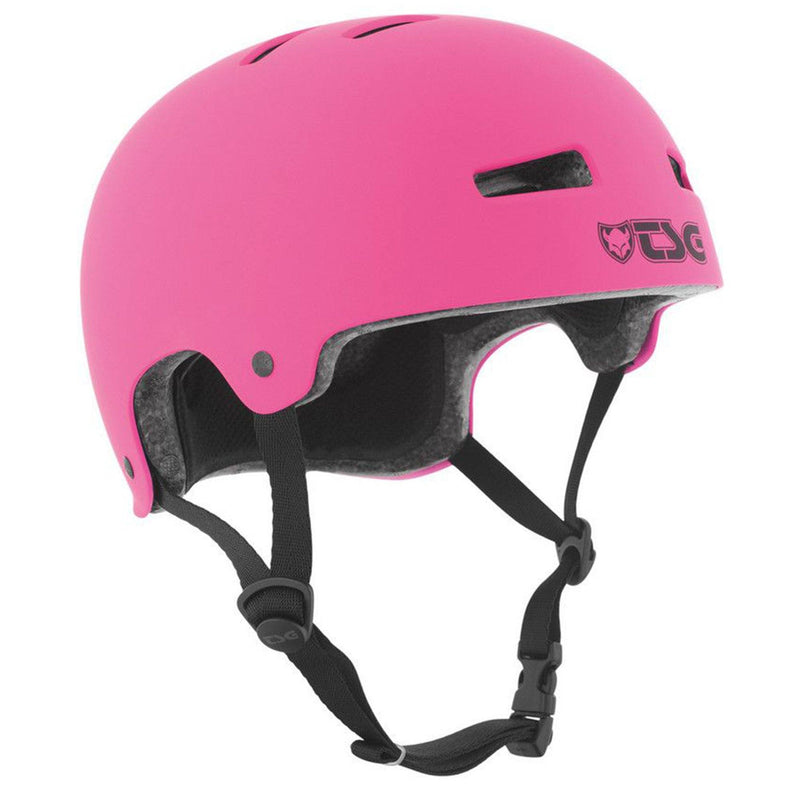 TSG Protection Evolution Skate/BMX Helmet, Pink Protection TSG S/M