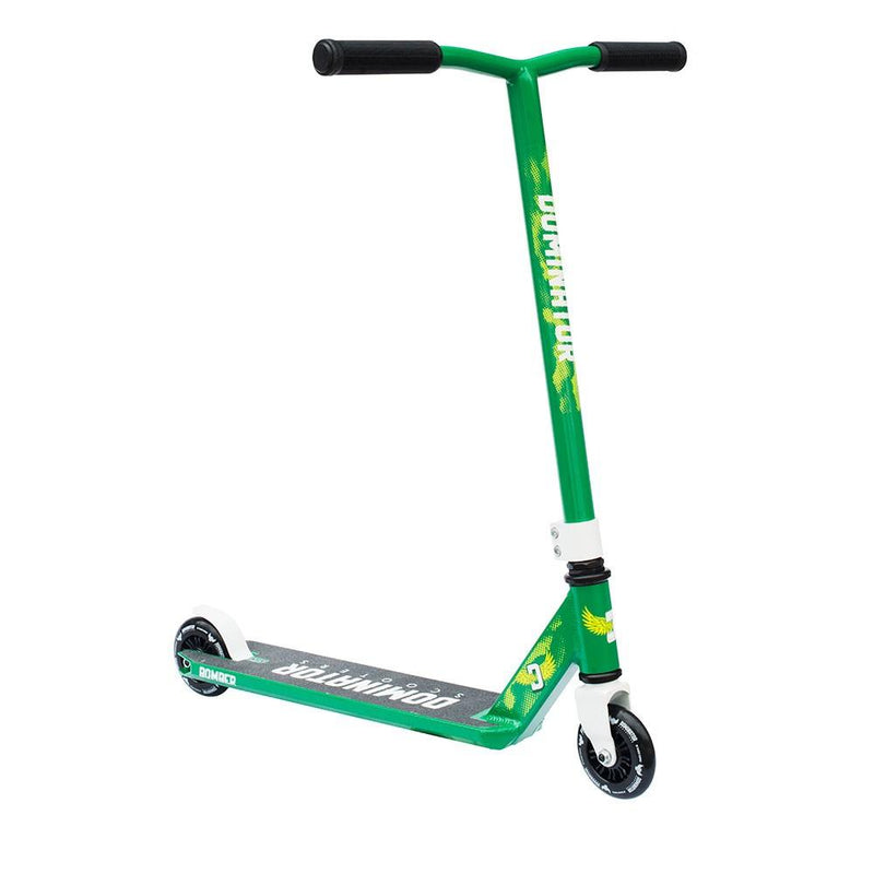 Dominator Scooters 2017 Bomber - Green/White Stunt Scooter Dominator