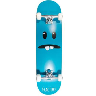 Fracture Skateboards Lil Monsters Complete 7.875, Sea Green Skateboard Fracture