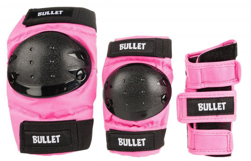 Bullet Combo Standard Padset Junior, Pink Protection Bullet Small