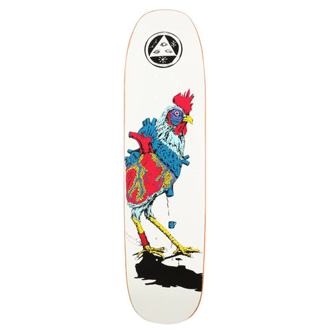 Welcome Skateboards Rooster Chicken Deck, 8.25
