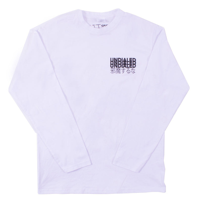 UNDIALED Classic Long Sleeve T-Shirt - White Clothing Undialed M