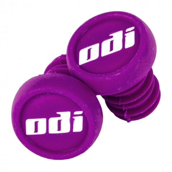 ODI Push In Bar Ends (2pcs), Purple BMX ODI