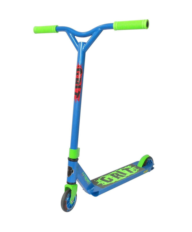 Grit Scooters Extremist Complete Scooter - Blue Fluro Green