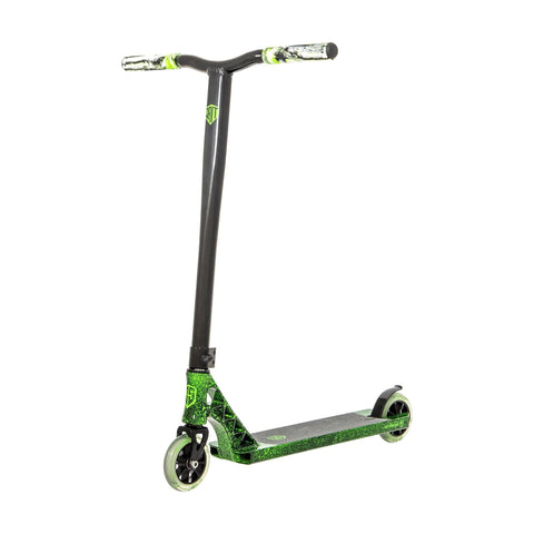 Grit Elite Complete Stunt Scooter, Green/Black
