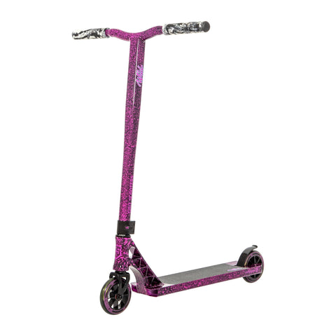Grit Wild Complete Stunt Scooter, Black/Purple
