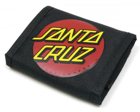 Santa Cruz Wallet, Classic Dot Canvas