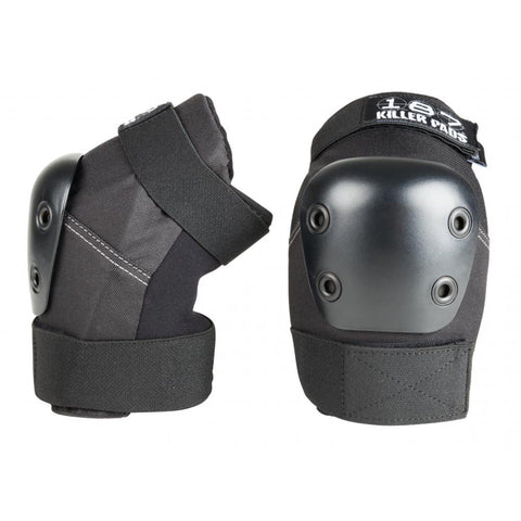 187 Protection Pro Killer Elbow Pads, Black/Black