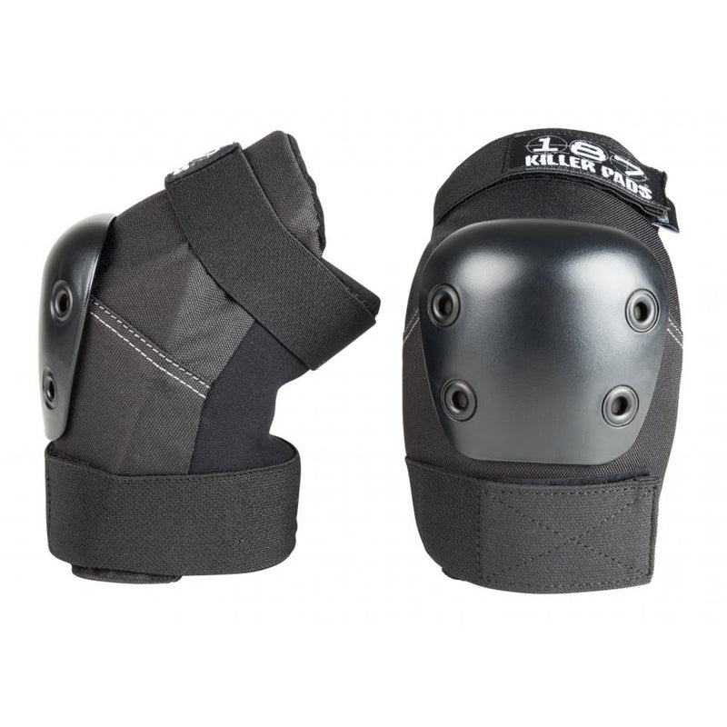 187 Protection Pro Killer Elbow Pads, Black/Black Protection 187