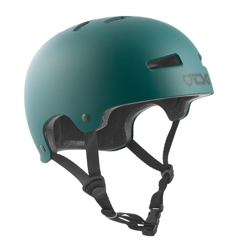 TSG Protection Evolution Skate/BMX Helmet, Forest Green Protection TSG XXS/XS