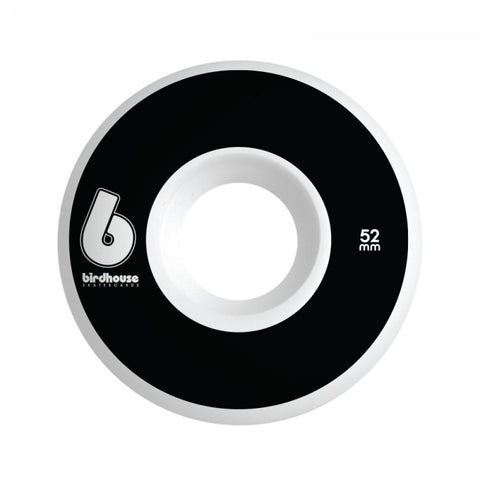 Birdhouse Skateboard Wheels B Logo Black 52 MM