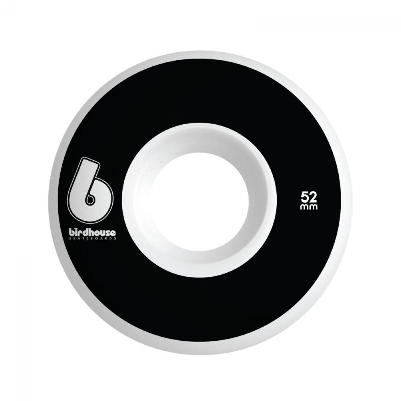Birdhouse Skateboard Wheels B Logo Black 52 MM Skateboard Birdhouse