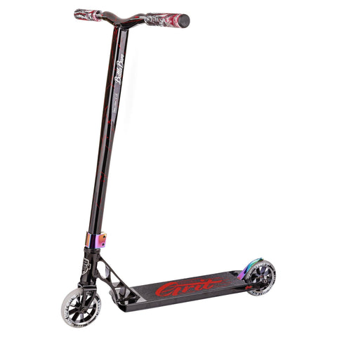 Grit Scooters 2018 Tremor Complete Stunt Scooter, Black/Laser Red