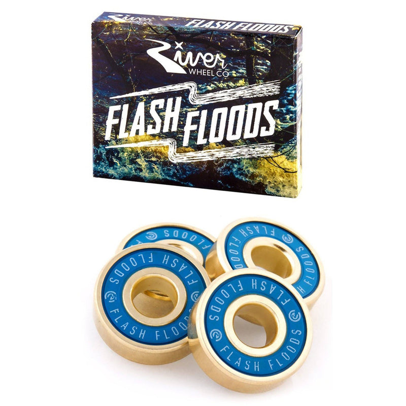 River Wheels Flash Flood Scooter Bearings Skates River Wheels