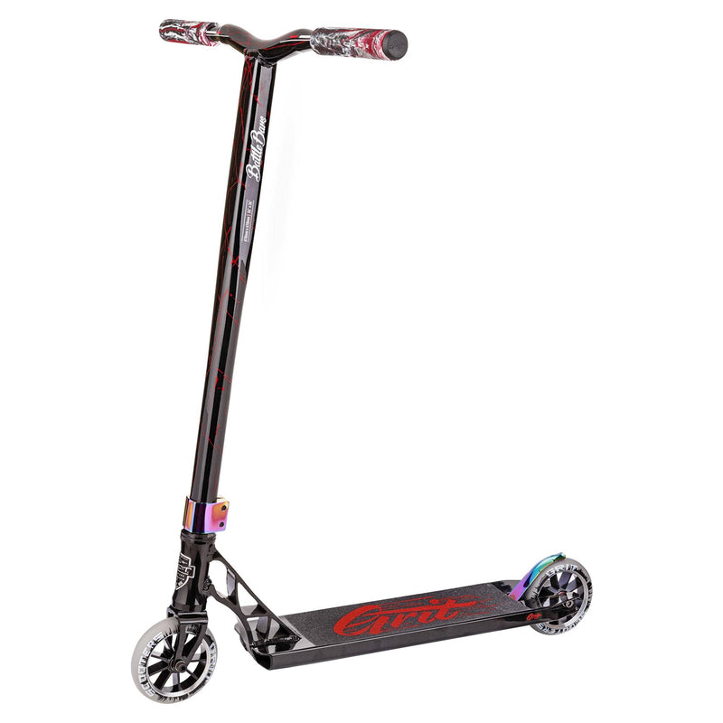 Grit Scooters Tremor Complete Scooter - Black / Laser Red Complete Scooters Grit