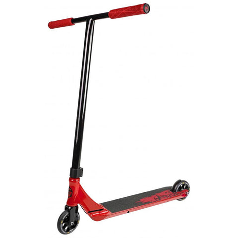 Addict Complete Scooter Defender - Red/Black