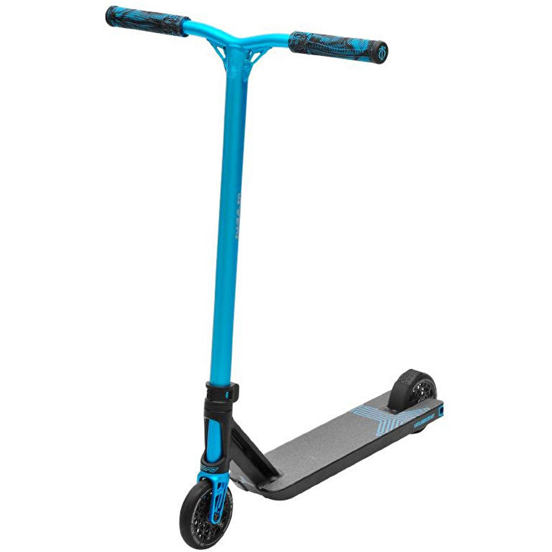 Triad Stunt Scooter Delinquent - Black/Blue Teal Complete Scooters Triad