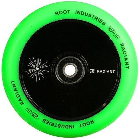 Root Industries Scooters Air Stunt Scooter Wheels 110mm , Green/Black