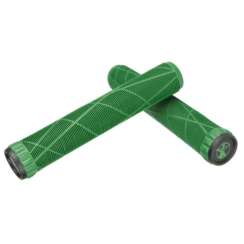 Addict Scooters OG Stunt Scooter Grips, Green BMX Addict