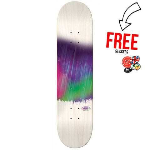 Real Skateboards Davis Torgerson Deck 8.18, White