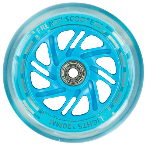 Frenzy 3 Wheel Light Up Scooter Wheel Blue - 120mm