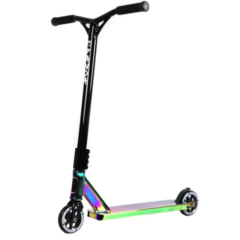 Panda Scooters SCS V2 Complete Stunt Scooter, Black/Oil Slick