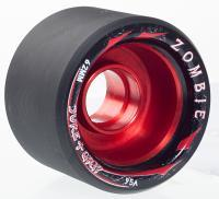 Suregrip Quad Wheels Zombie Max 95A (4 pack), Red