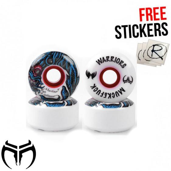 Muckefuck Martino Cattaneo Skateboard Wheels 56mm Skateboard MuckeFuck