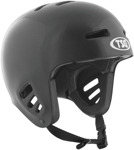 TSG Full Cut Dawn Flex Helmet, Black