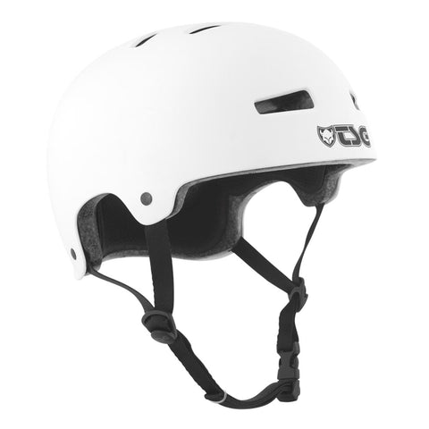 TSG Protection Evolution Skate/BMX Helmet, White