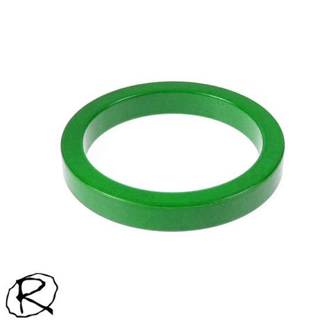 Rampworx 5mm Scooter Fork Spacer, Green