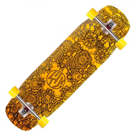 Lush Longboards Grifter 3D, Yellow
