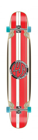 Lush Longboards Legend Stripe, Red