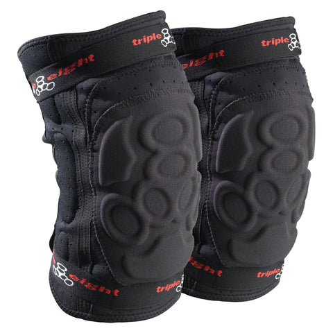 Triple 8 Exo Skin Knee Pads, Black