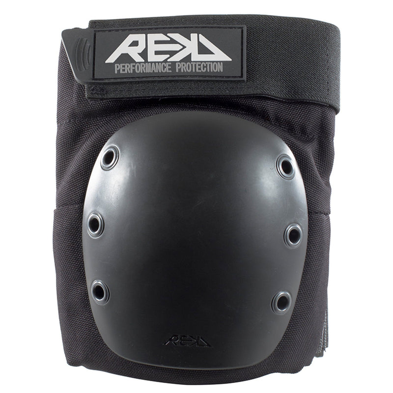REKD Protection Ramp Skate/BMX Knee Pads, Black Protection REKD Medium