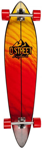 D-Street Longboards Pintail Dune 42, Brown