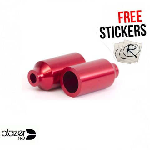 Blazer Pro Canista Scooter Pegs, Red