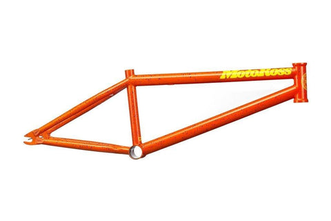 SUNDAY MOTOROSS FRAME, ORANGE, BLACK SPLATTER
