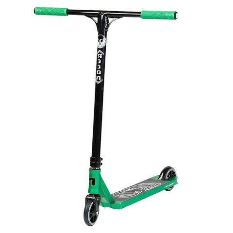 Phoenix Pilot Complete Scooter - Anodised Teal (Green) / Black