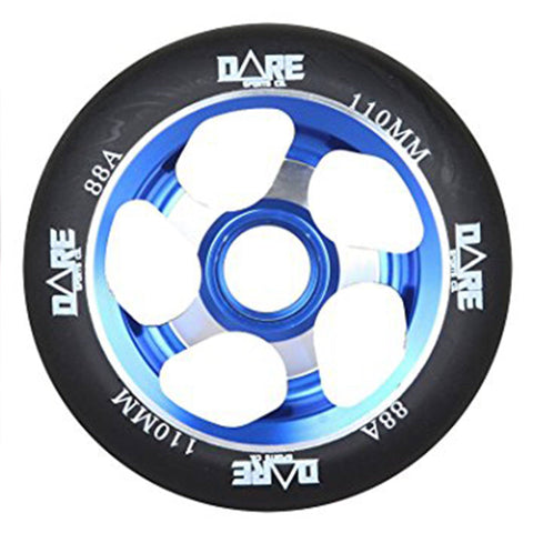 Dare Sports Swift Scooter Wheel 110mm, Black/Blue