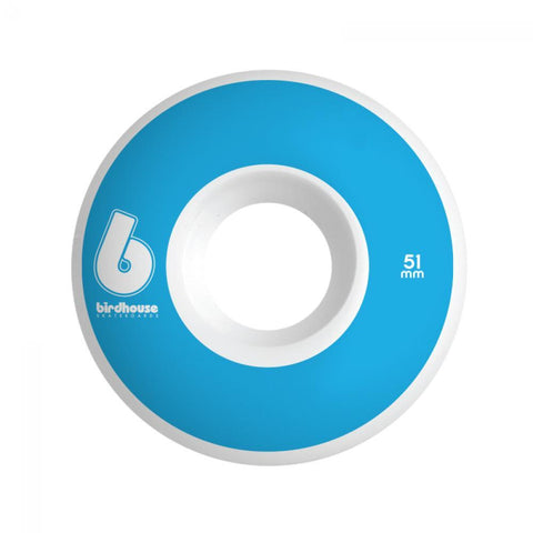 Birdhouse Skateboard Wheels B Logo Blue 51 MM