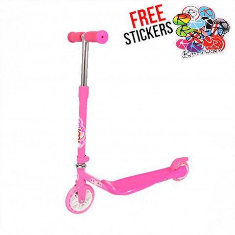 MiMi Kids Freestyle Scooter, Pink