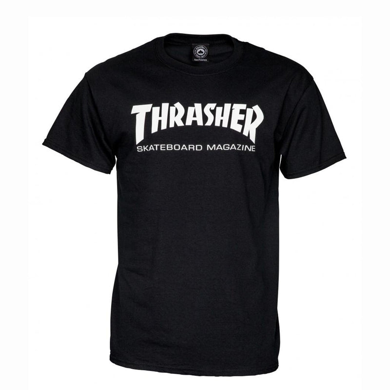 Thrasher Skate Mag Classic T-Shirt, Black Clothing Thrasher Large