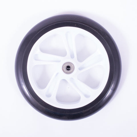 Micro Scooters 200mm Commuter Scooter Wheel, Black/White
