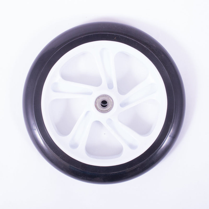 Micro Scooters 200mm Commuter Scooter Wheel, Black/White Stunt Scooter Micro