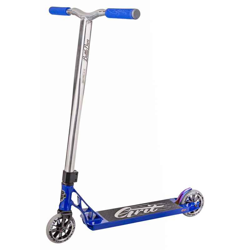 Grit Scooters 2018 Tremor Complete Stunt Scooter, Blue/Polished Stunt Scooter Grit